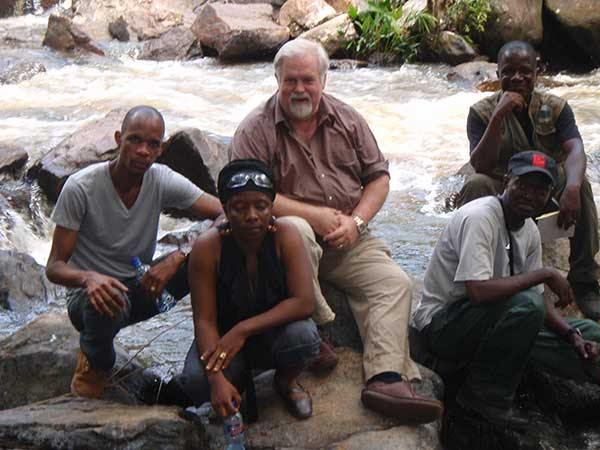 Kevin Young and Liberian EPA: Site Visit - Kpatawee Falls, Liberia