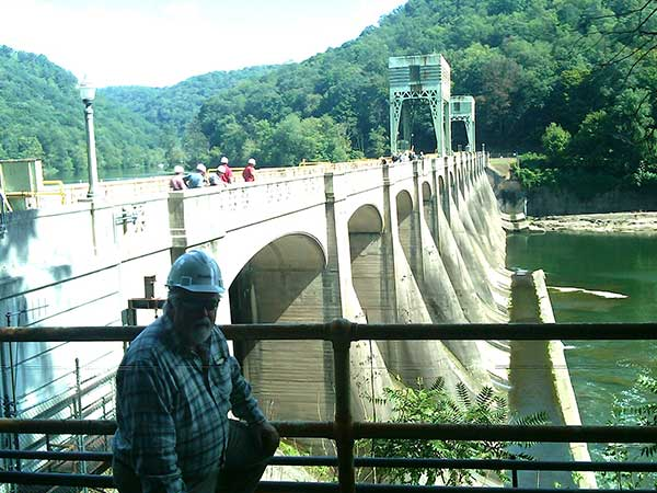 Kevin Young: Site Visit - Hawks Nest Hydro Project, WV