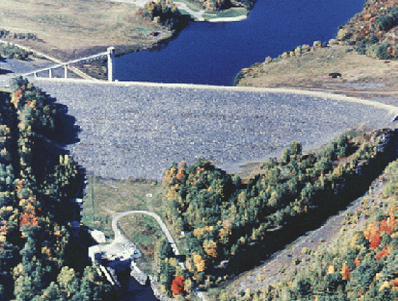 North Hartland Lake Dam
