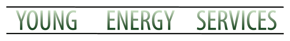 Young Energy Services White Name Logo